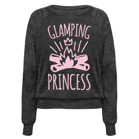Glamping Princess White Print