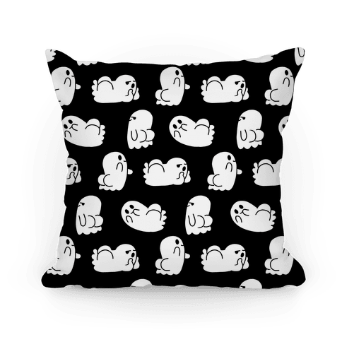 Ghost BOOties Pillow