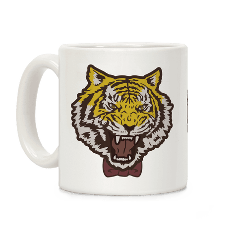 Tiger in a Bow Tie Coffee Mug