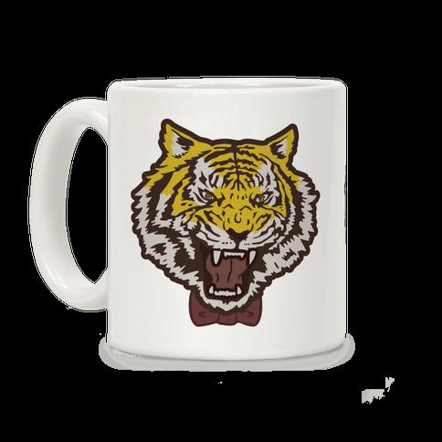 Tiger in a Bow Tie Coffee Mug