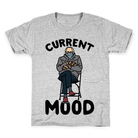 Current Mood Sassy Bernie Sanders Kids T-Shirt