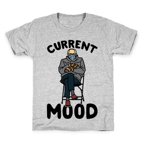 Current Mood Sassy Bernie Sanders Kids T-Shirt
