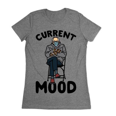 Current Mood Sassy Bernie Sanders Womens T-Shirt