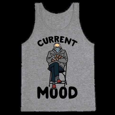 Current Mood Sassy Bernie Sanders Tank Top