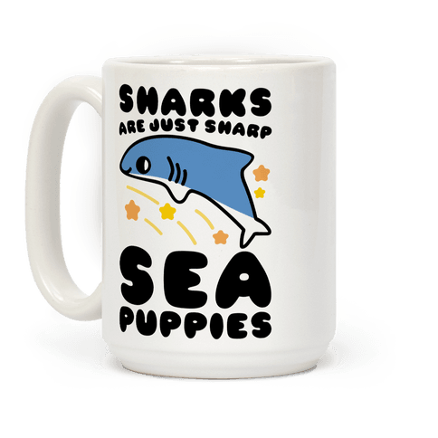 Sharks Are Just Sharp Sea Puppies