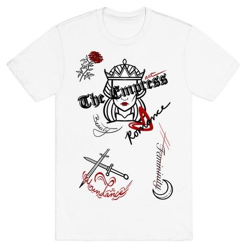 The Empress Tarot Graphics (Black)  T-Shirt
