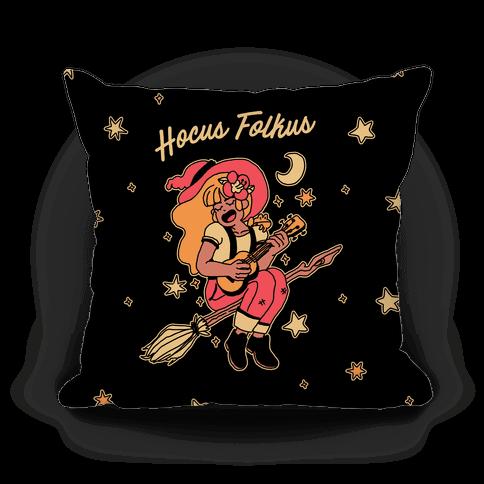 Hocus Folkus Pillow