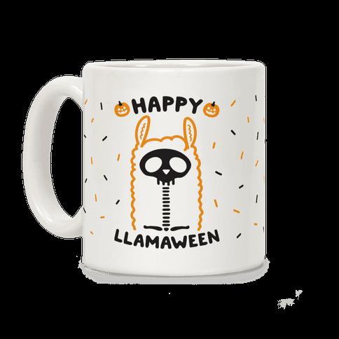 Happy Llamaween Coffee Mug