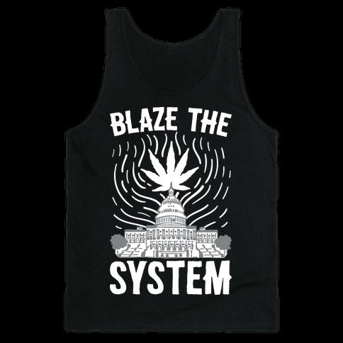 Blaze The System Tank Top