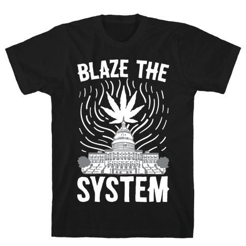 Blaze The System Mens T-Shirt