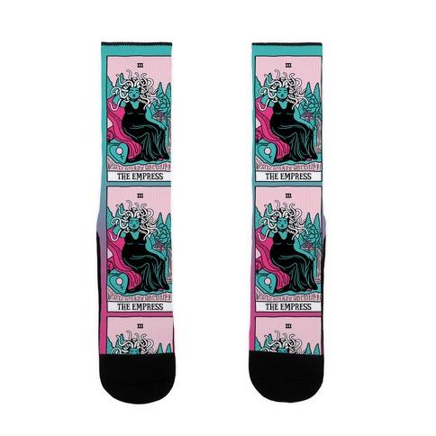 Creepy Cute Tarots: The Empress Medusa Sock