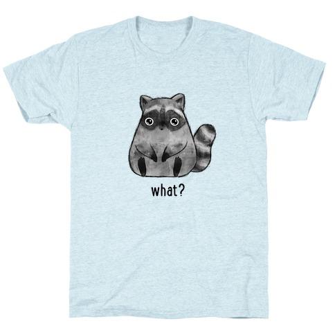 Sassy Cute Raccoon T-Shirt