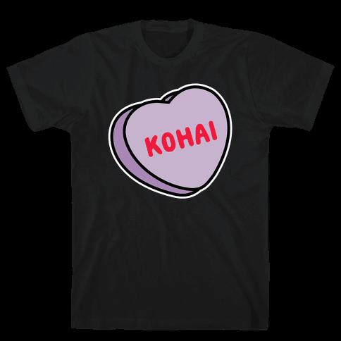 Kohai Candy Heart Mens/Unisex T-Shirt