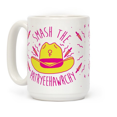 Smash the PatrYEEHAWrchy Coffee Mug