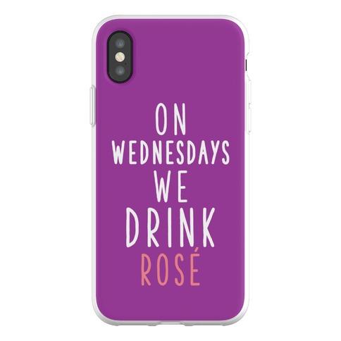 On Wednesdays We Drink Ros Phone Flexi-Case