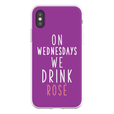 On Wednesdays We Drink Ros Phone Flexi-Case
