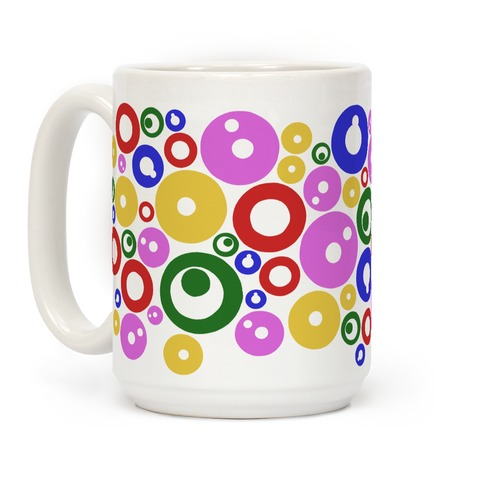 Bloobles Pattern Coffee Mug
