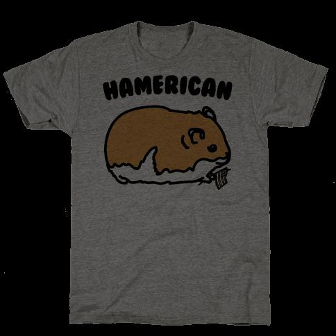 Hamerican Parody Mens T-Shirt