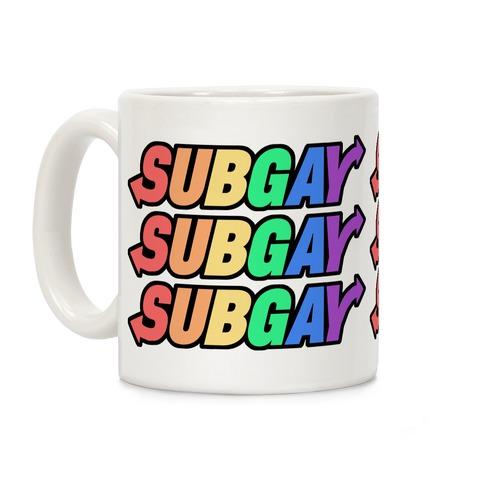 SUBGAY Coffee Mug