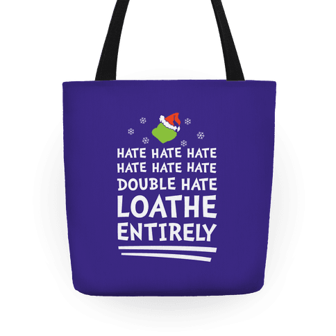 Loathe Entirely Tote