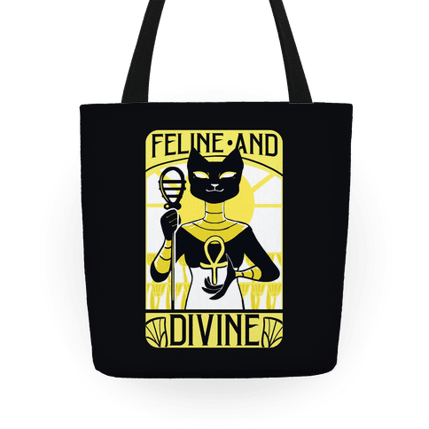 Feline and Divine Tote
