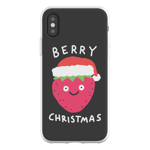 Berry Christmas Phone Flexi-Case