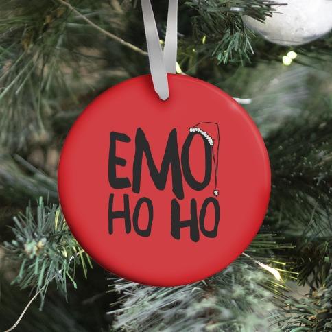 Emo Ho Ho Ornament