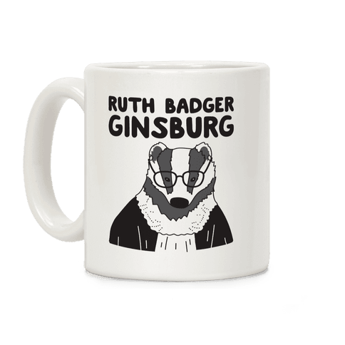 Ruth Badger Ginsburg Coffee Mug