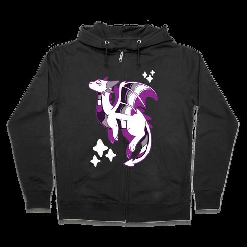 Ace Pride Dragon Zip Hoodie