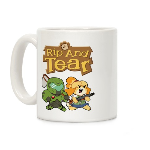 Rip And Tear Coffee Mug