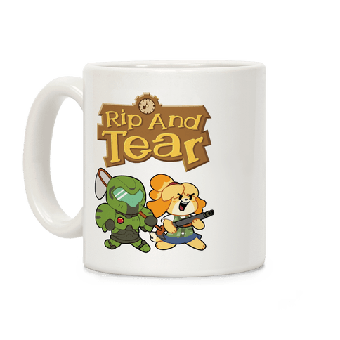 Rip And Tear Coffee Mug