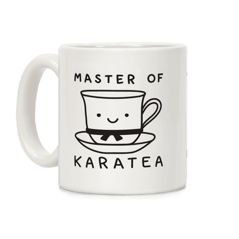 Master Of KaraTEA Coffee Mug