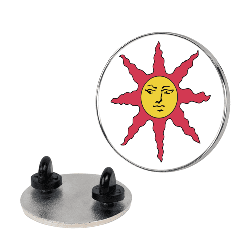 Solaire of Astora pin
