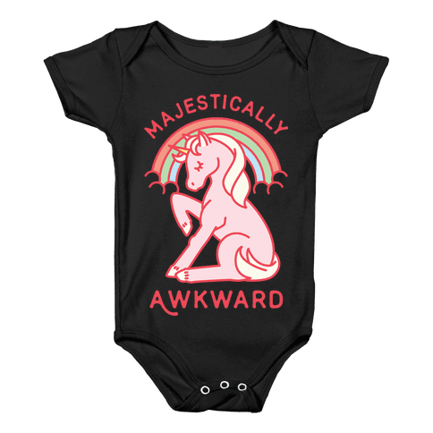Majestically Awkward Baby Onesy