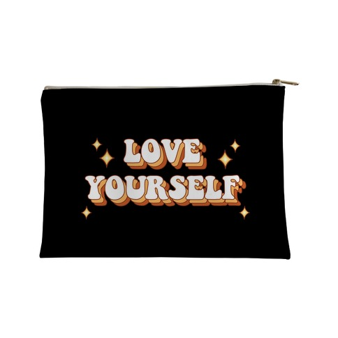 Love Yourself (groovy) Accessory Bag