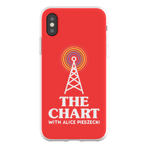 The Chart With Alice Pieszecki Phone Flexi-Case