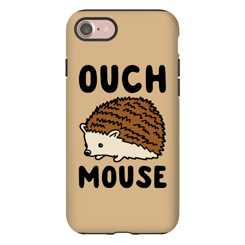 Ouch Mouse Hedgehog Parody Phone Case