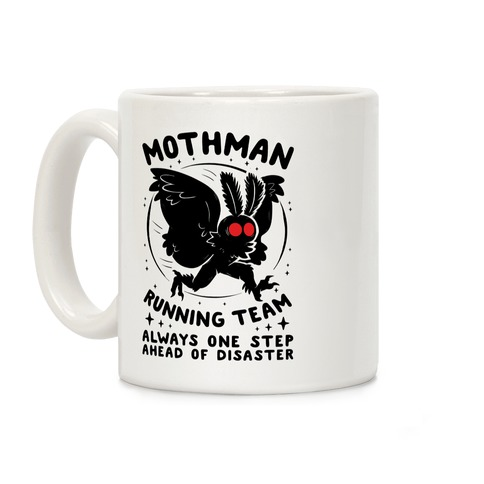 Mothman Running Team Coffee Mug