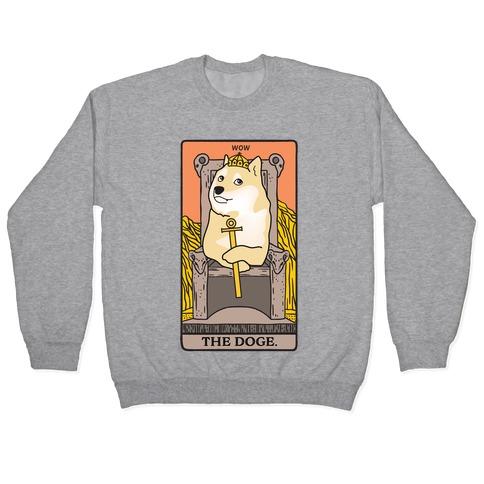 The Doge Tarot Parody Pullover