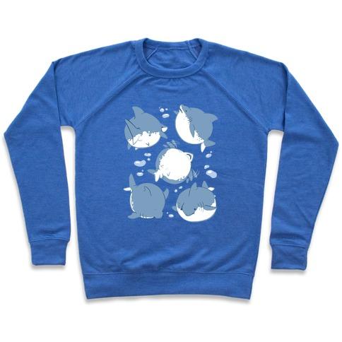 Fat Shark Pattern Pullover