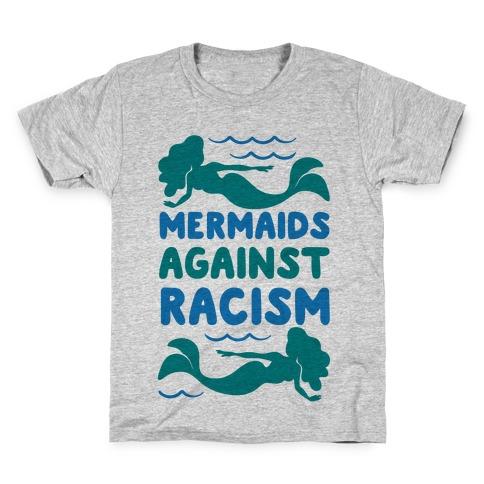 Mermaids Against Racism Kids T-Shirt