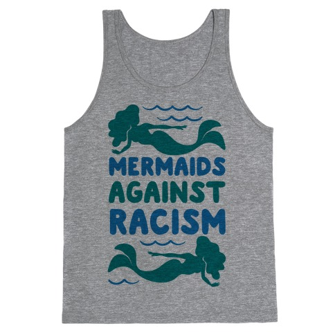 Mermaids Against Racism Tank Top
