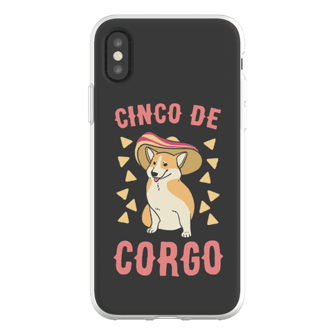Cinco de Corgo Phone Flexi-Case