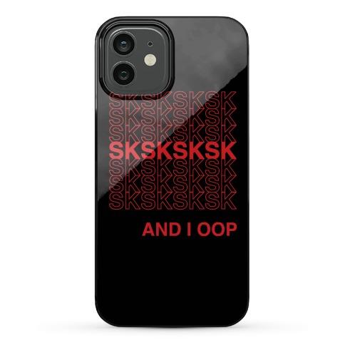 VSCO Girl Thank You Bag Parody Phone Case