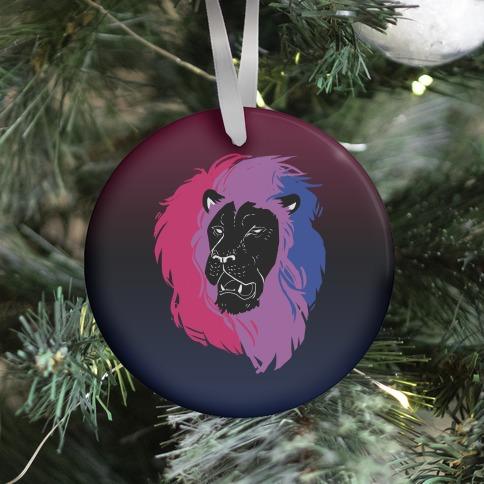 Bisexual Lion Pride Ornament