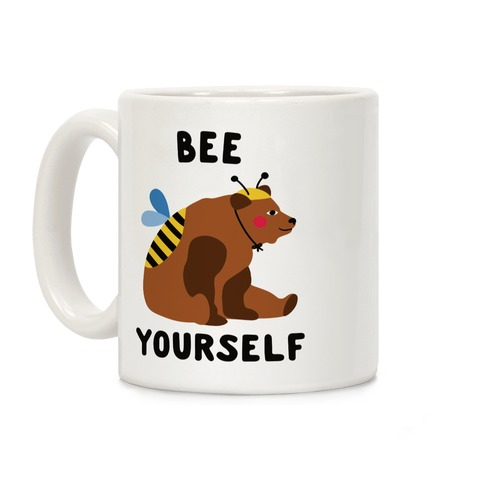 Bee Yourself Bear Coffee Mug