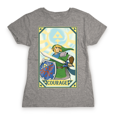 Courage - Link Womens T-Shirt