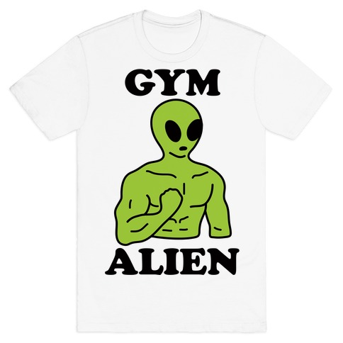 Gym Alien T-Shirt