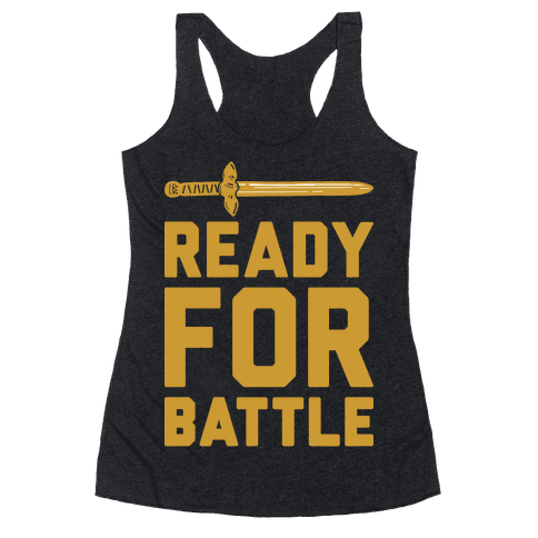 Ready For Battle Racerback Tank Top