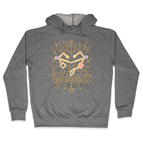 Heart of Etheria Fail Safe Emblem Hooded Sweatshirt